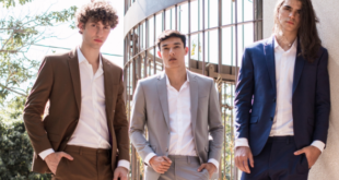 Terno sem gravata é uma tendência de moda